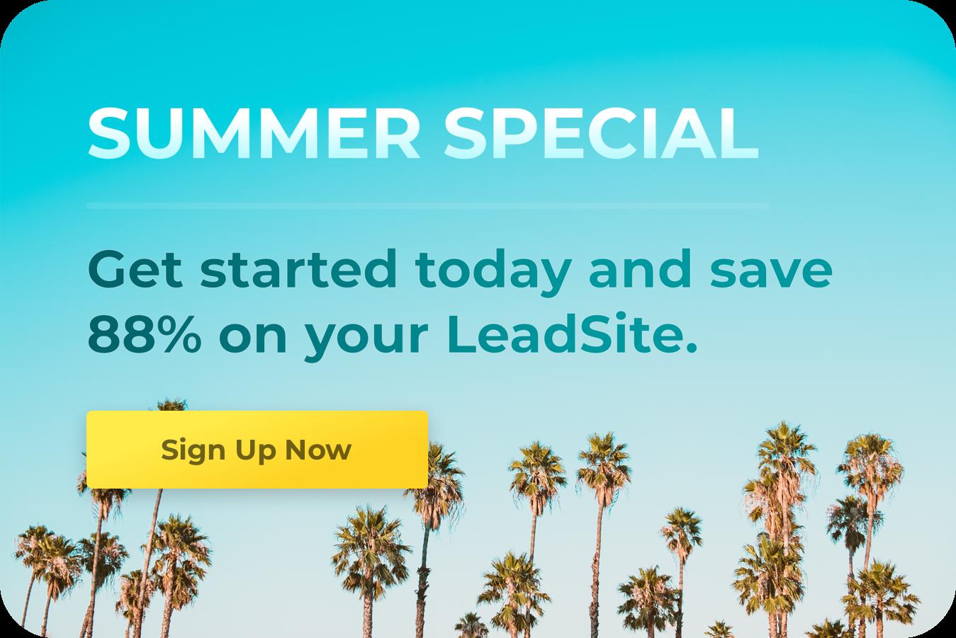 LeadSites Promo