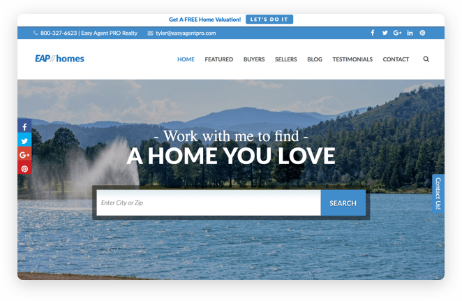 Real Estate Website Designed To Match You